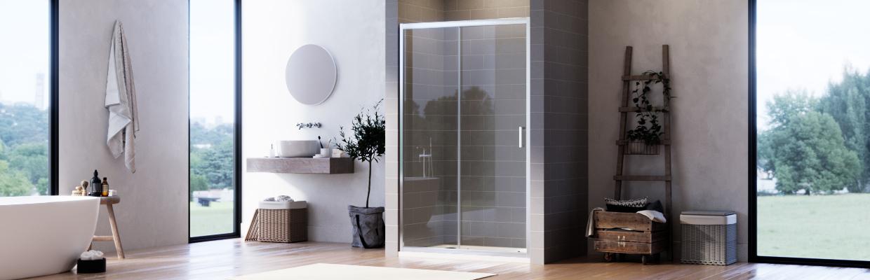 Single Sliding Shower Enclosures