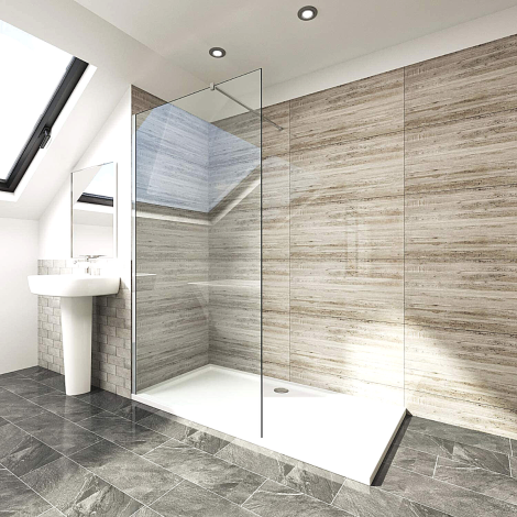 Elegant Walk-In Showers
