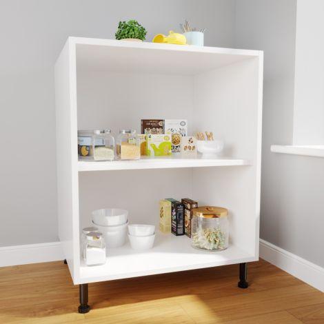 ELEGANT New Kitchen Base Units Carcases Drawer Cupboards Storage Cabinets DIY White