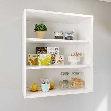 Elegant 720x300mm  Kitchen Base Units White Base Cabinets Carcasses Drawing Cupboards Storage