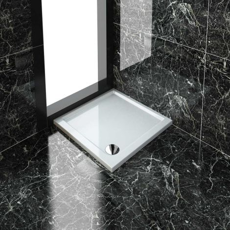 ELEGANT 700x700mm Shower Tray New Square Stone