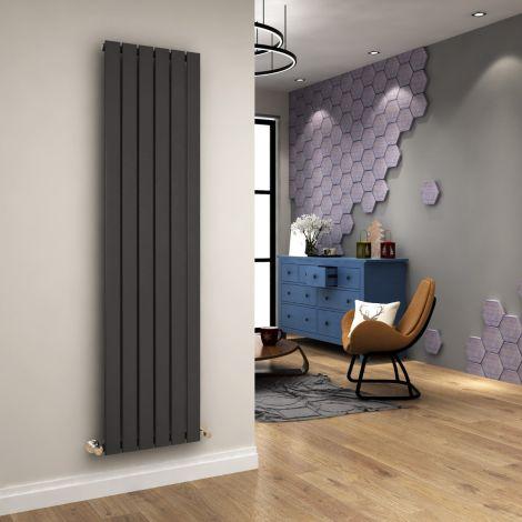 ELEGANT 1800 x452mm Vertical Designer Radiator Column Tall Upright Central Heating Radiators