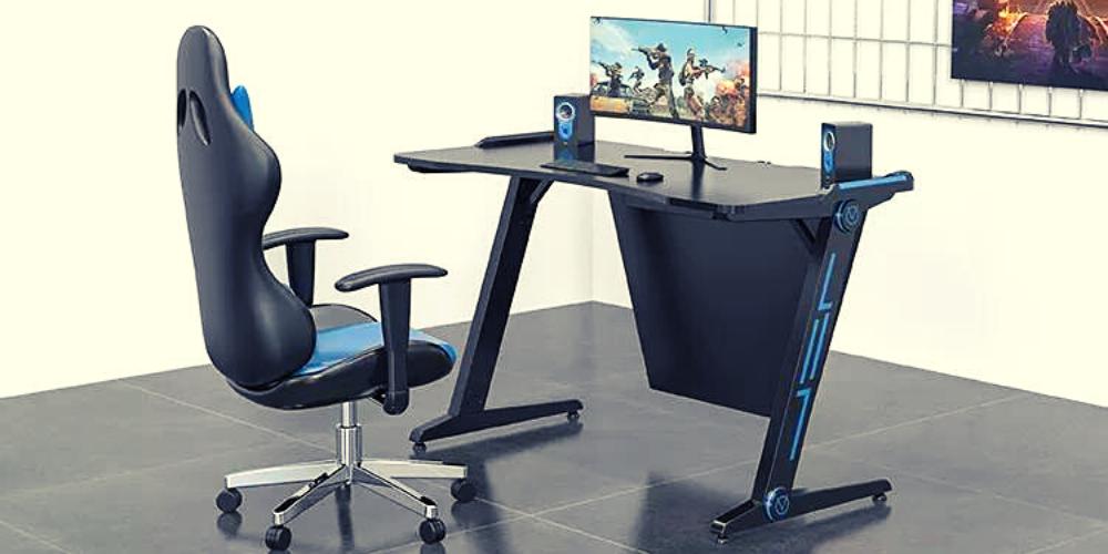 The Elegant Gaming Desk Set Up 2021  Elegant Showers