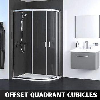 Offet Quadrant Shower Enclosures